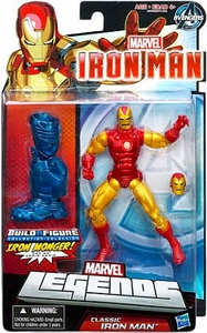 Iron Man 3 Marvel Legends Series 1 Action Figure Classic Iron Man [Build Iron Monger Piece!]