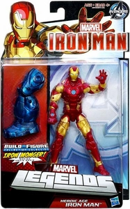 Iron Man 3 Marvel Legends Series 1 Action Figure Heroic Age Iron Man [Build Iron Monger Piece!]