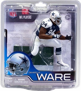 McFarlane Toys NFL Sports Picks Series 30 Exclusive Action Figure DeMarcus Ware (Dallas Cowboys) Thanksgiving Day Jersey