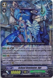 Cardfight Vanguard ENGLISH Rampage of the Beast King Single Card RR Rare BT07-009EN School Dominator, Apt