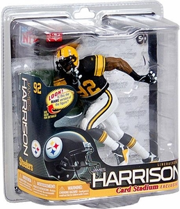 McFarlane Toys NFL Sports Picks Exclusive Action Figure James Harrison (Pittsburgh Steelers) Retro Throwback