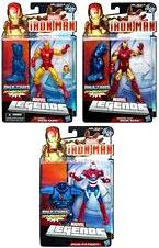 Iron Man 3 Marvel Legends Series 1 Set of 3 Action Figures [Classic, Heroic Age & Iron Patriot]
