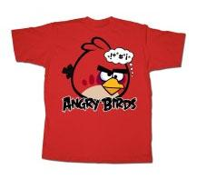 Angry Birds Adult Printed T-Shirt Bonkers