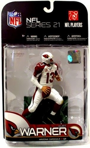 McFarlane Toys NFL Sports Picks Exclusive Action Figure Kurt Warner (Arizona Cardinals)