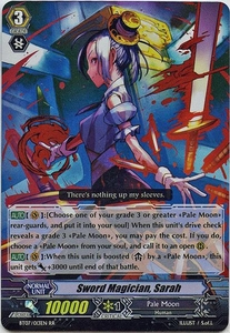Cardfight Vanguard ENGLISH Rampage of the Beast King Single Card RR Rare BT07-013EN Sword Magician, Sarah