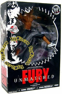 WWE Wrestling Unmatched Fury Platinum Edition Series 1 Action Figure John Cena