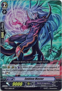 Cardfight Vanguard ENGLISH Rampage of the Beast King Single Card RR Rare BT07-018EN Emblem Master