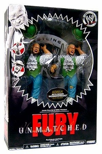 WWE Wrestling Unmatched Fury Platinum Edition Series 9 Hornswoggle [2-Pack Regular & Battle Damaged]