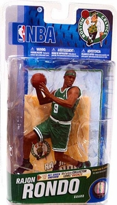 McFarlane Toys NBA Sports Picks Series 19 Action Figure Rajon Rondo (Boston Celtics) Green Jersey