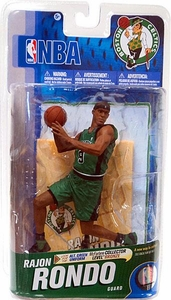 McFarlane Toys NBA Sports Picks Series 19 Action Figure Rajon Rondo (Boston Celtics) Alternate DARK Green Jersey Bronze Collector Level Chase Only 1,000 Made!