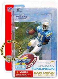 McFarlane Toys NFL Sports Picks Super Bowl XXXVII 37 Exclusive Action Figure Ladainian Tomlinson (San Diego Chargers)