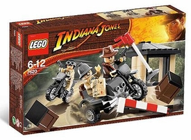 LEGO Indiana Jones Set #7620 Motorcycle Chase