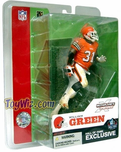 McFarlane Toys NFL Sports Picks 2003 Hall of Fame Exclusive Action Figure William Green (Cleveland Browns)
