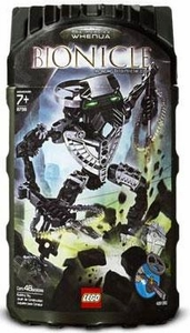 LEGO Bionicle Toa Hordika Set #8738 Whenua [Black]