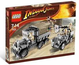 LEGO Indiana Jones Set #7622 Race for the Stolen Treasure