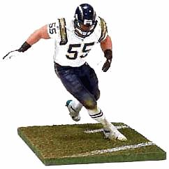 McFarlane Toys NFL Sports Picks Super Bowl 37 Exclusive Action Figure Junior Seau (San Diego Chargers) Only 2,500 Made!