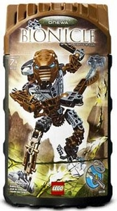 LEGO Bionicle Toa Hordika Set #8739 Onewa [Brown]