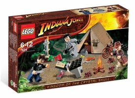 LEGO Indiana Jones Set #7624 Jungle Duel This is a Small Set!