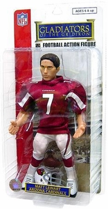 PGS [Not McFarlane] Gladiators of the Gridiron 9 Inch Action Figure Matt Leinart Red Jersey Variant Damaged Package, Mint Contents!