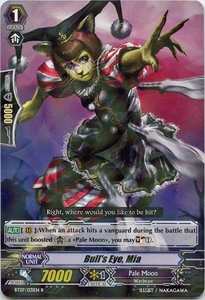 Cardfight Vanguard ENGLISH Rampage of the Beast King Single Card Rare BT07-031EN Bull's Eye, Mia