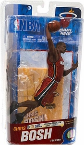 McFarlane Toys NBA Sports Picks Series 19 Action Figure Chris Bosh (Miami Heat) Red Uniform