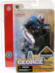 McFarlane Toys NFL Sports Picks Super Bowl XXXVIII 38 Exclusive Action Figure Eddie George (Houston Oilers)