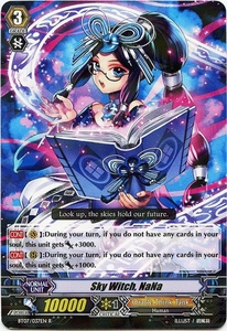 Cardfight Vanguard ENGLISH Rampage of the Beast King Single Card Rare BT07-037EN Sky Witch, NaNa