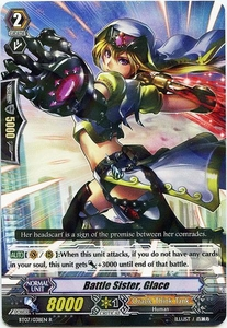 Cardfight Vanguard ENGLISH Rampage of the Beast King Single Card Rare BT07-038EN Battle Sister, Glace