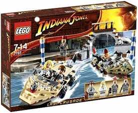 LEGO Indiana Jones Set #7197 Venice Canal Chase