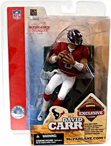 McFarlane Toys NFL Sports Picks Super Bowl XXXVIII 38 Exclusive Action Figure David Carr (Houston Texans)