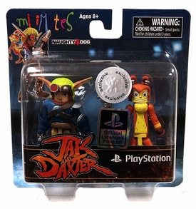 Sony Minimates Exclusive Mini Figure 2-Pack Jak & Daxter  [Jak & Daxter]