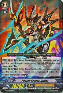 Cardfight Vanguard ENGLISH Rampage of the Beast King Single Card Rare BT07-040EN Photon Archer, Griflet