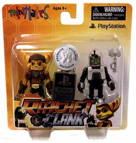 Sony Minimates Exclusive Mini Figure 2-Pack Ratchet & Clank  [Ratchet & Clank: Future]