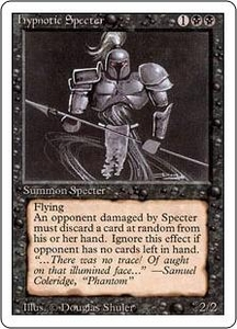 Magic the Gathering Revised Edition Single Card Uncommon Hypnotic Specter