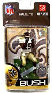 McFarlane Toys NFL Sports Picks Exclusive NFL Elite Series 1 Action Figure Reggie Bush (New Orleans Saints)