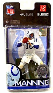 McFarlane Toys NFL Sports Picks Exclusive NFL Elite Series 1 Action Figure Peyton Manning (Indianapolis Colts)