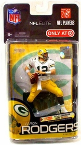 McFarlane Toys NFL Sports Picks Exclusive NFL Elite Series 1 Action Figure Aaron Rodgers (Green Bay Packers)White Jersey Only 3,000 Made!