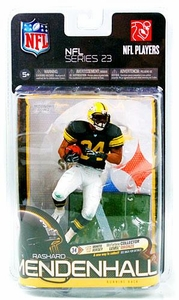 McFarlane Toys NFL Sports Picks Series 23 Exclusive Action Figure Rashard Mendenhall (Pittsburgh Steelers) Retro Jersey White Pants Only 4,000 Made!