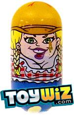 Mighty Beanz Series 3 Common Bedtime Single #143 Cowgirl Bean