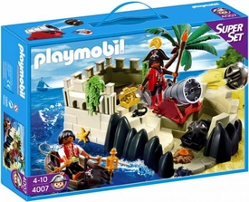 Playmobil Pirates Set #4007 Super Set Pirates Cove