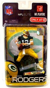 McFarlane Toys NFL Sports Picks Exclusive NFL Elite Series 1 Action Figure Aaron Rodgers (Green Bay Packers)Green Jersey