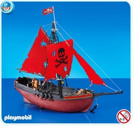 Playmobil Pirates Set #7518 Red Corsair