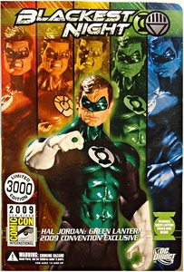 DC Direct Green Lantern Blackest Night 2009 SDCC San Diego Comic-Con Exclusive Action Figure Hal Jordan GREEN Lantern Only 3,000 Made!