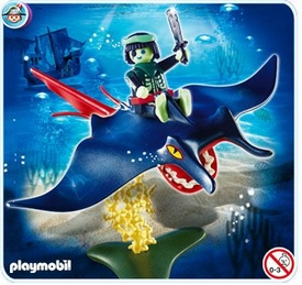 Playmobil Pirates Set #4801 Stingray Rider