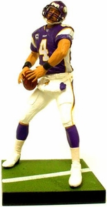McFarlane Toys NFL Sports Picks Exclusive LOOSE Action Figure Brett Favre (Minnesota Vikings) Purple Home Jersey