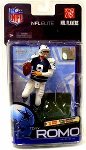 McFarlane Toys NFL Sports Picks Exclusive NFL Elite Series 1 Action Figure Tony Romo (Dallas Cowboys) Bronze Collector Level Retro Blue Jersey Only 3,000 Made!