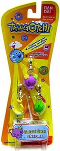 Tamagotchi Gotchi Gear 3 Piece Charms Accessory Viloletchi with Charms BLOWOUT SALE!