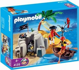 Playmobil Pirates Set #4139 Pirate Island Compact Set BLOWOUT SALE!