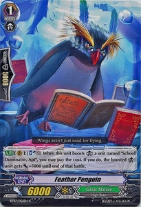 Cardfight Vanguard ENGLISH Rampage of the Beast King Single Card Common BT07-056EN Feather Penguin