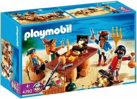 Playmobil Pirates Set #4292 Pirates with Barrels